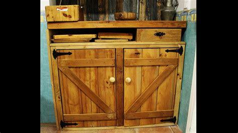 ️ Cómo Hacer un Mueble Rústico de Madera  Rustic ...