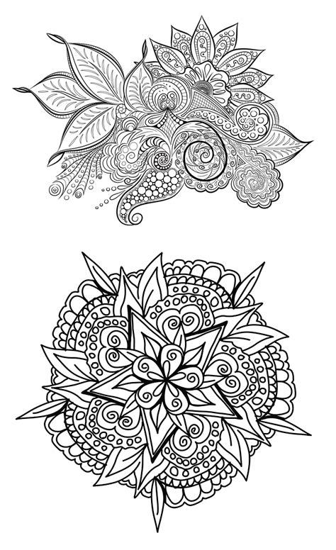 ஜ Imágenes de Flores para Colorear ஜ Preciosos Mandalas de ...