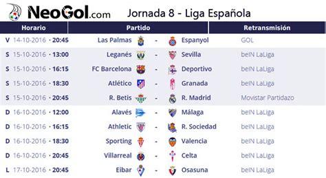 ⑧ Jornada 8 Liga Española 2016 | LaLiga Santander