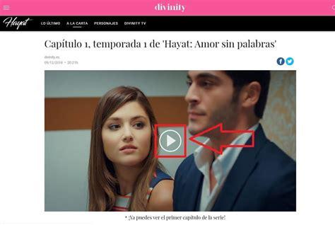 ≫ Ver Hayat Amor Sin Palabras En Divinity Online GRATIS 2021