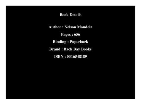 ️ Who wrote the book long walk to freedom. Download Long ...