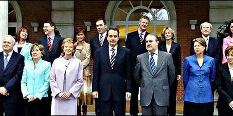 ¿Sabe a qué se dedican ahora los ministros del primer ...