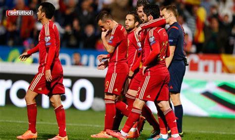 ¿Sabes cuándo y contra quién juega la Selección española ...