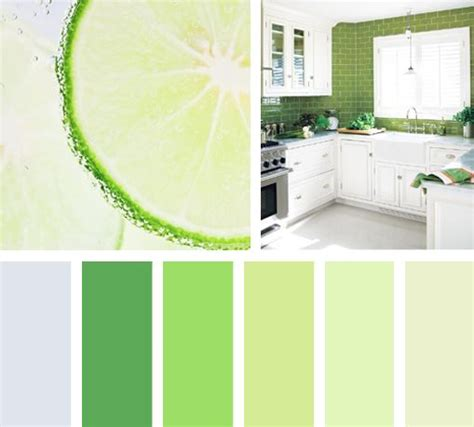 Sabor verde limón | Colores de pintura verdes, Gama de ...