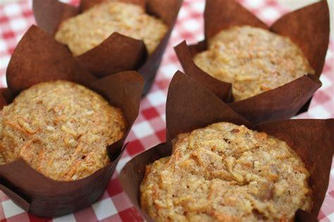 Sabrosos muffins de zanahoria y coco, esponjosos y sin ...