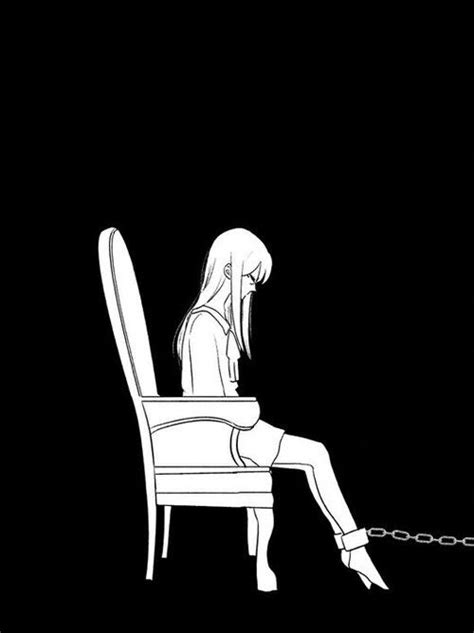 Sad Anime Girl In Chains