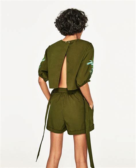 Safari | Zara: monos cortos, tendencia del verano contra el...