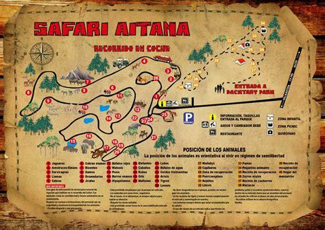 Safaris Mapa
