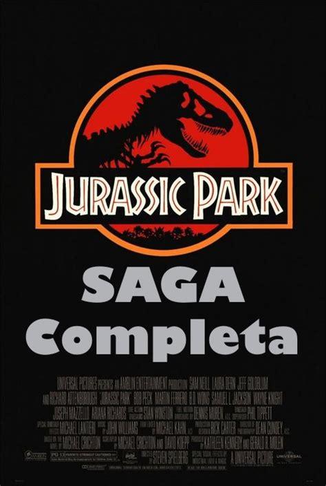 Saga Jurassic Park DVDRip Latino [Mega] [DepositFiles ...