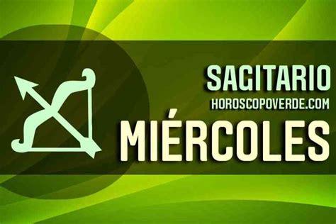 Sagitario, Horóscopo Verde Hoy Miércoles 12 de Mayo 2021