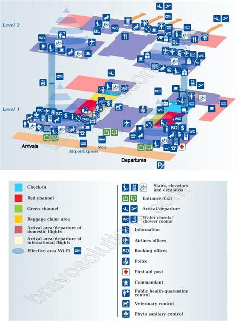 Saint Petersburg aeropuerto, mapa   aeropuerto de San ...