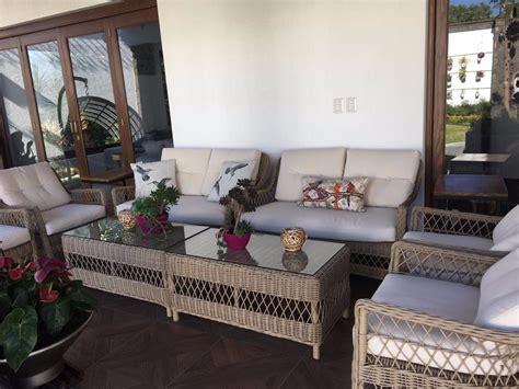 Sala Rattan Para Exterior, Jardin, Terraza, Sofa, Mesa ...