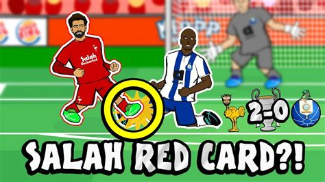 SALAH RED CARD?! CONSPIRACY!  Liverpool vs FC Porto 2 0 ...