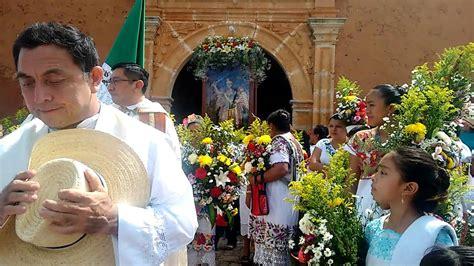 Salida de San Miguel Arcángel de Maxcanú.   YouTube