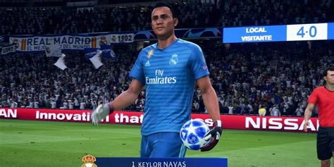 Salió el demo de FIFA 19 y esto hizo con Keylor en el ...