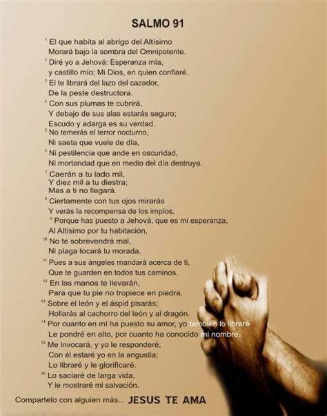 Salmo 91 CATOLICO | salmo 91 | Ideas for the House ...