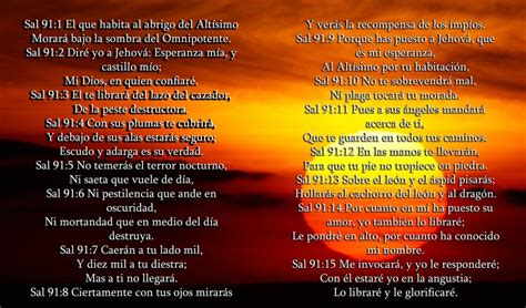 salmo 91 de la biblia oracion de la noche para estar ...