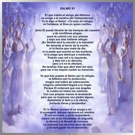 Salmo 91 | Oraciones poderosas | Pinterest