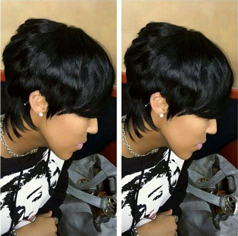 Salon Christol  Maryland    Quick weave hairstyles, Short ...