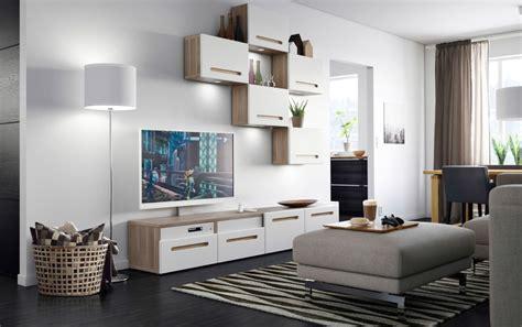 Salón moderno Ikea decorado en blanco :: Imágenes y fotos