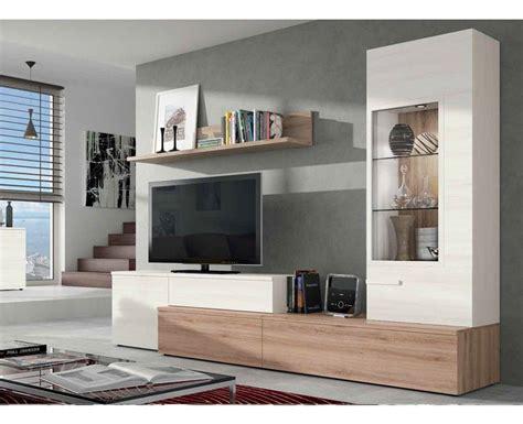 Salones modernos con vitrina en Móstoles | Muebles para tv ...