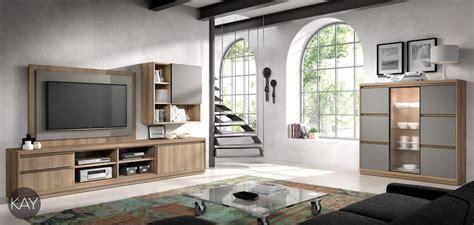 Salones modernos y actuales con módulos colgados en la pared