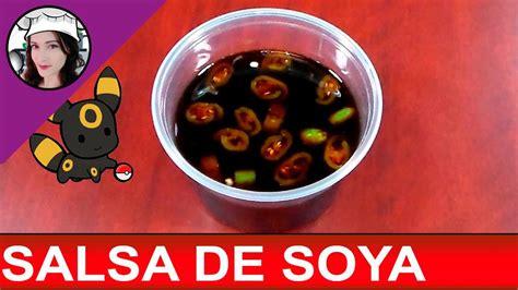 SALSA DE SOYA para MAKIS  sushi    comida oriental     YouTube