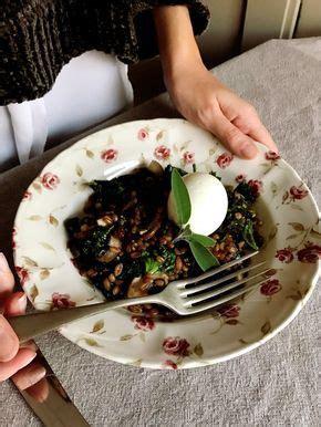 Salteado de espelta con espinacas, col kale y huevo en 5 ...