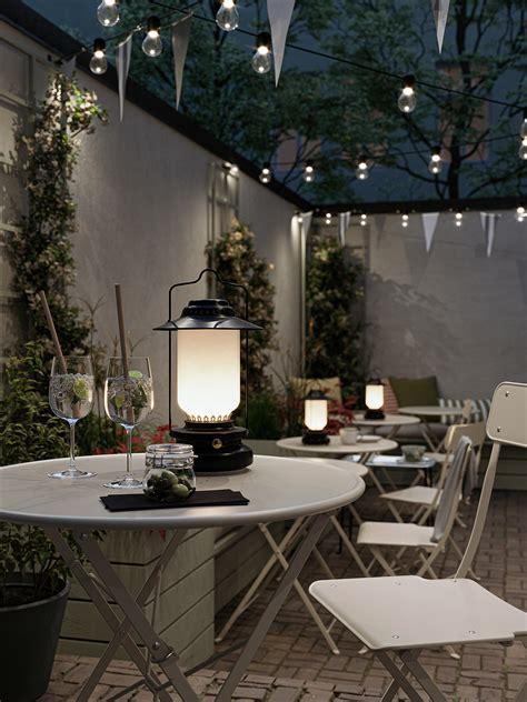 SALTHOLMEN Mesa y 2 sillas plegables, exterior   beige   IKEA