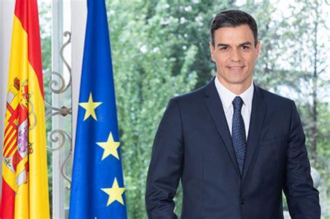 Saluda del Presidente del Gobierno de España, Pedro ...