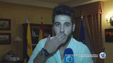 Saludo de Antonio Jose a Palma del Río Información   YouTube