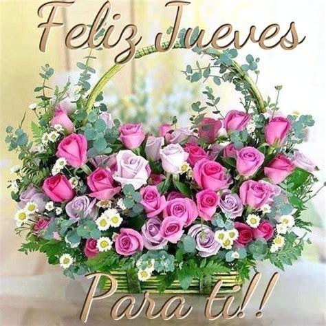 saludos de buenos dias con flores   Buscar con Google ...