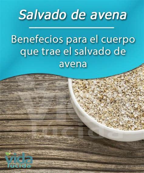 Salvado de avena, propiedades y beneficios para el cuerpo ...