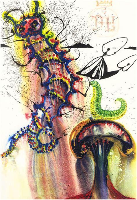 Salvador Dali's illustrated version of Alice in Wonderland ...