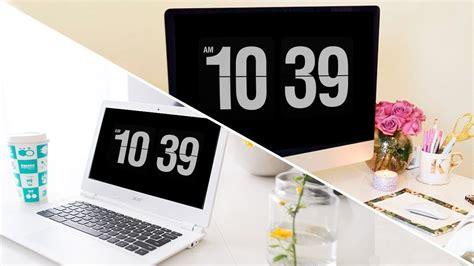 Salvapantallas de reloj para windows & Mac   YouTube