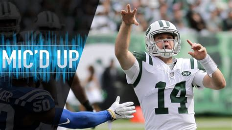 Sam Darnold Mic d Up vs. Colts  Let s Put a Dagger in ...