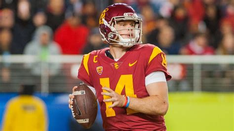Sam Darnold of USC Trojans says he would be honored to ...