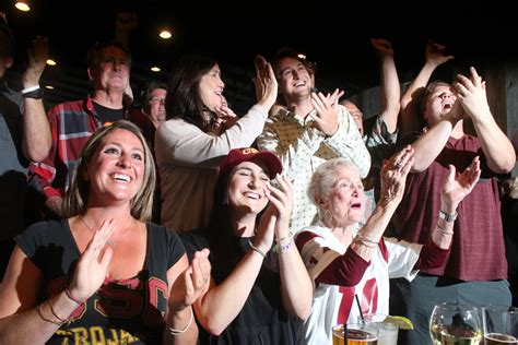 Sam Darnold s Family, Locals Gather on NFL Draft Night ...