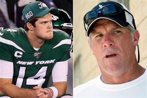 Sam Darnold s Jets  ghosts  used to haunt Brett Favre