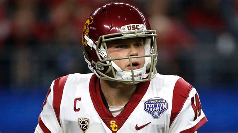 Sam Darnold says the right things, but won't throw at NFL ...