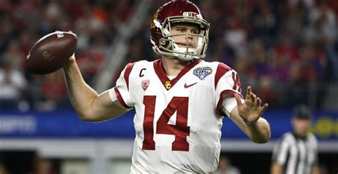 Sam Darnold shows his wares at USC Pro Day