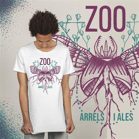 Samarreta solidària Arrels i ales ZOO.   ubeefe #SuportDeBase