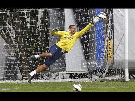 Samir Handanovic Best goalkeepers training   Motivational ...