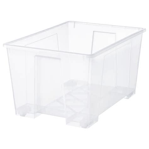SAMLA Caja   transparente   IKEA