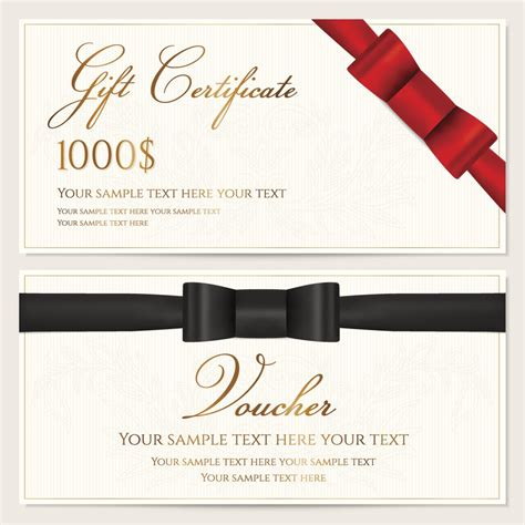 Sample Wordings for Gift Certificates You ll Want to Copy ...
