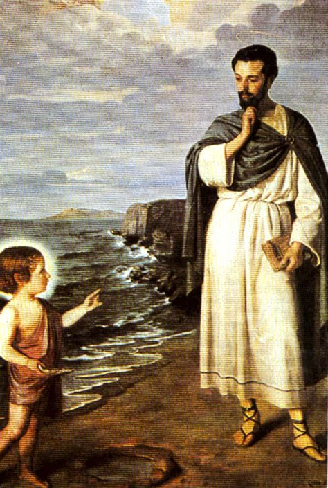 San Agustín  La trinidad  | San Agustin de Hipona ...