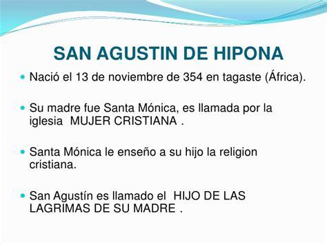 San agustinde hipona