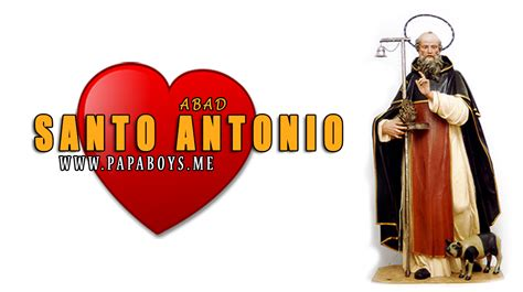 San Antonio, Abad. El Santo del día y su historia. Viernes ...