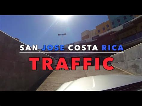 San Jose Costa Rica Drive to the Airport   YouTube