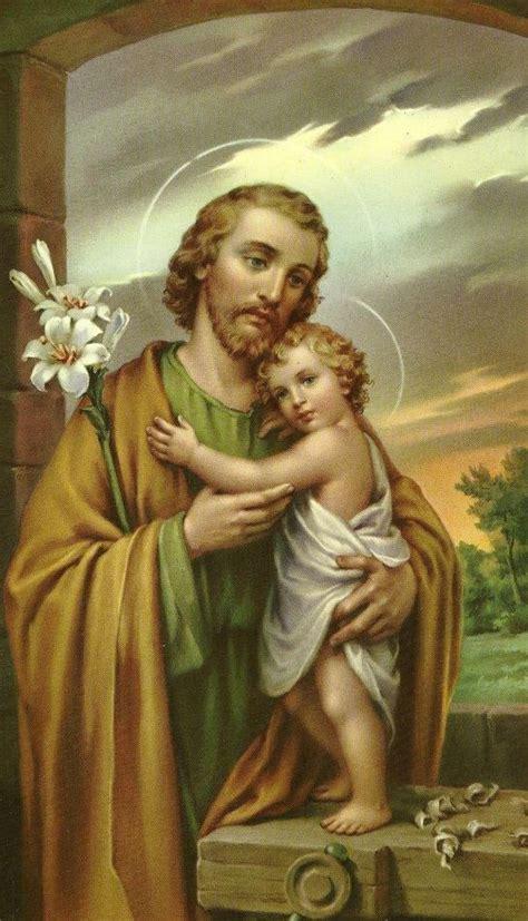 SAN JOSÉ Y EL NIÑO DIOS | Patriarca san josé